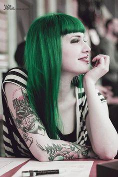 Tinte verde para el pelo Manic Panic Venus Envy