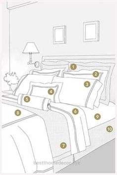 Excellent How to arrange your bed.  The post  How to arrange your bed….  appeared first on  Best Home Decor .