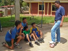 SOS Youth Leader Teaches the Power of Sports to Children