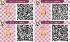 New Leaf QR Paths Only Alice in wanderland path -card symbols orange and pink Set#1