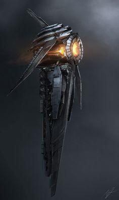 Ship_Concept_2 by AdamBurn.deviantart.com on @deviantART
