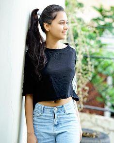 Back to black🌑 . Beautiful Girl In India, Beautiful Girl Image, Beautiful Asian Girls, Beautiful Women, Dehati Girl Photo, Girl Photo Poses, Girl Photos, Beautiful Bollywood Actress, Beautiful Indian Actress