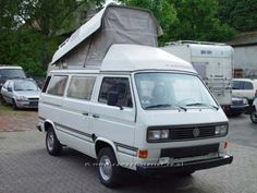 1990 VW T3 Weinsberg with Poptop Roof
