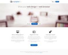 WebProjector.org by jcd-pl on deviantART #webdesign