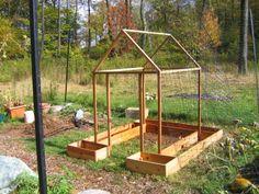DIY Preschool: Construction of a bean house with toddlers! Eco Garden, Garden Trellis, Garden Boxes, Dream Garden, Fruit Garden, Homestead Gardens, Garden Projects, Garden Ideas, Garden Structures