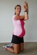 Avoiding separation of diastasis recti muscle during pregnancy though exercise.
