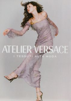 Gisele for Atelier Versace S/S 1999