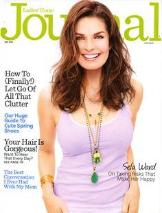 Ladies' Home Journal May 2013 - Sela Ward