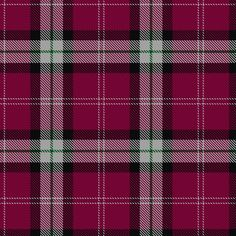 Nisbet Nesbit Rose Pink Tartan. Information from The Scottish Register of Tartans.