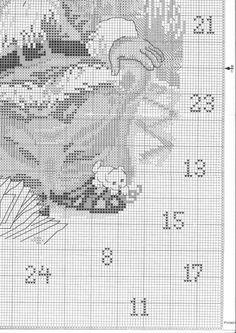 santa advent calendar chart 3
