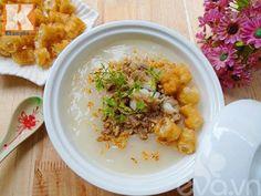 Cách nấu món cháo sườn sụn thơm ngon cho bữa sáng ngon miệng - http://congthucmonngon.com/155552/cach-nau-mon-chao-suon-sun-thom-ngon-cho-bua-sang-ngon-mieng.html