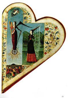 The Chansonnier Cordiforme (1470s) or Chansonnier de Jean de Montchenu is a cordiform (heart-shaped) music manuscript.