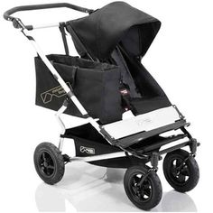 Mountain Buggy Duet  http://blogs.babble.com/being-pregnant/2012/06/29/double-stroller-that-goes-single-meet-the-mountain-buggy-duet-win-it-now-599-value/