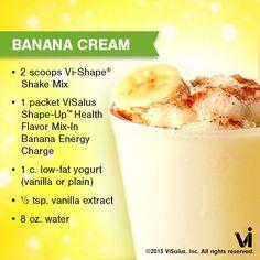 Banana Cream Pie Vi-Shake