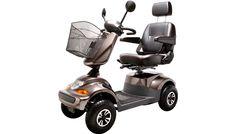 El-scooter PF2K 550W 36AH 4-Hjul mokka THANSEN 12000,-