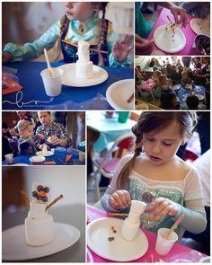 Frozen Themed Birthday Party with Lots of Really Great Ideas via Kara's Party Ideas