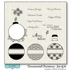 Ornamental Christmas - Verve Stamps Inspiration Gallery