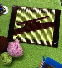 Weaving Loom, Beginner Loom Kit, Learn to Weave Kit