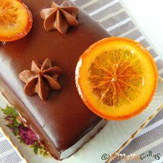 Tort Dobos cu portocale - un desert regal - simonacallas Romanian Food, Sweet Tarts, Something Sweet, Yummy Food, Sweets, Baking, Orange, Fruit, Deserts