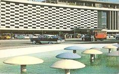 The Manila International Airport, Philippines Manila, Airport Architecture, Philippine Architecture, Cool Photos, Interesting Photos, Makati, Time Capsule, Mid Century Style, International Airport