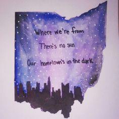 Love this #OhioProud Hometown// Twenty Øne Piløts
