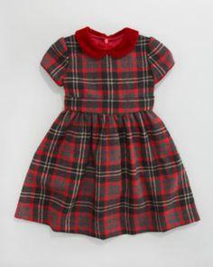 Tartan plaid dress