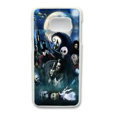 Tim Burton Movie Characters Phone Cover Case For Samsung Galaxy S7 Edge Cell Phone White CGD204350 -- Awesome products selected by Anna Churchill