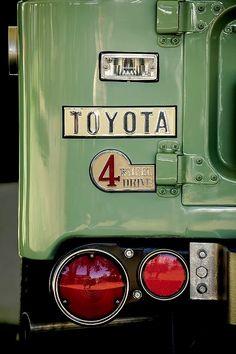 1969 Toyota Land Cruiser Taillight Emblem Photograph - 1969 Toyota Land Cruiser Taillight Emblem by Jill Reger Toyota Cruiser, Toyota Fj40, Toyota Trucks, Toyota Cars, Fj Cruiser, Toyota Corolla, Ford Trucks, Best Classic Cars, Classic Trucks