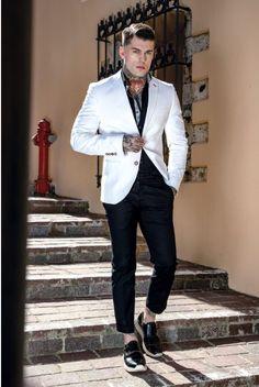 Master The light in 2019 | Men | White blazer outfits ...
