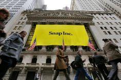 Morning Agenda: Snap I.P.O. Stock Market High Bridgewater Shake-Up Yahoo