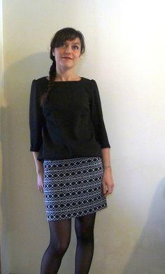 Petite robe de Vanessa Pouzet, version top