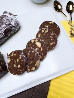 Europeans are known for creating all sorts of savory homemade sausages, and chocolate salami just happens to also be up their alley. Chocolate Salami is a traditional Portuguese dessert that soared up all over Europe. We grew up on this dessert, because it was simple enough for us as kids to prepare at a very young age. To personalize and enhance flavors, I have added some Dulce De Leche (cooked condensed milk) to the recipe, it really makes it so much better.