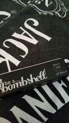 """Be a bombshell lip balm in """"french kiss"""" new."""