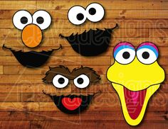 sesame street decorated cookies - Google Search