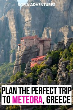 Planning a visit to Meteora? Here's what you need to know to plan a perfect Meteora visit. Meteora tour | Meteora tours | things to do in Kalambaka | things to do in Kalabaka | Meteora Greece | how to see the Meteora monasteries | Greek Monasteries in Meteora | Meteora day trip | Meteora from Thessaloniki | Meteora from Athens | Meteora itinerary | Meteora trip ideas | Meteora vacation ideas | Meteora tour ideas | how to see the monasteries in Meteora | Meteora tips | Meteora instagram spots… Sweden Travel, Norway Travel, Spain Travel, Greece Travel, Usa Travel, Slovenia Travel, Croatia Travel, Europe Travel Guide, Europe Destinations