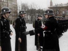 ϟϟ-Verfügungstruppe. Berlin Lichterfelde barracks, November 22 1938. - Original historic description: Berlin, Kaserne der LSSAH Vergatterung...