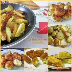 Una raccolta di ricette con le Patate facili e veloci, per preparare un contorno o un secondo piatto ricco di gusto e sapore che piacerà a tutti