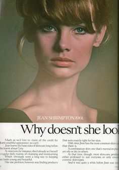 Miss Rosemary Jean Shrimpton, innovative original photographic supermodel of the Sixties