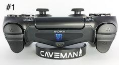PlayStation 4 controller light bar decal-Monster Nike Jordan Beats and Apple logo (set of 2)