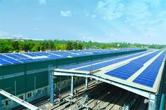 Azure Power (NYSE: AZRE), a leading independent solar power producer in India, announced the successful installation and operation of its rooftop solar power plant for Delhi Metro Rail Corporation (DMRC) at the Sultanpur facility. Solar Energy, Solar Power, Delhi Metro, Metro Rail, Renewable Sources Of Energy, Climate Change Effects, Best Solar Panels, New Details, Rooftops