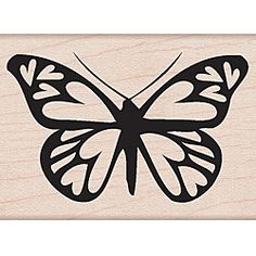 This Hero Arts wood mounted stamp is made with lightweight wood, foam, and red rubber. This stamp features a Heart Winged Butterfly design. Silhouette Cameo, Silhouette Online Store, Silhouette Projects, Silhouette Design, Kirigami, Stencils, 3d Templates, Arts And Crafts, Paper Crafts