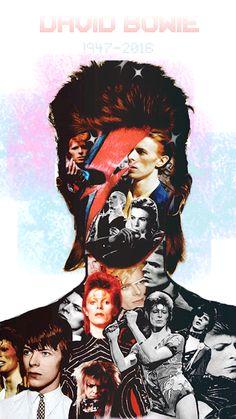 "pittykitty: "" Rest In Power, David Bowie. Beatles, Ziggy Played Guitar, Mick Ronson, David Bowie Art, Houston, Bowie Starman, The Thin White Duke, John David, Major Tom"