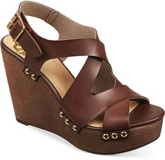 Perfect with wide-leg pants! Platform Wedge Sandals