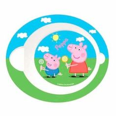 Peppa Pig baby Microwave Bowl UK – noveltycharacter 7f5a76e241d1