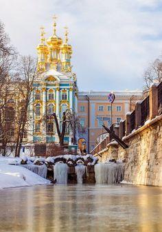 Tzarskoe Selo, Saint-Petersburg, Russia