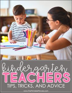 Teaching Kindergarten for the first time can be both scary and exciting. Read on for 12 tips and pieces of advice for new Kindergarten teachers that will help you feel confident in the classroom. You'll find tips on classroom management and procedures, what to expect the first week in Kindergarten, and what to plan for back-to-school activities.