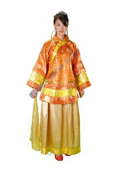 #Melody Costume Gallery  Chinese Women Wear #秀禾装