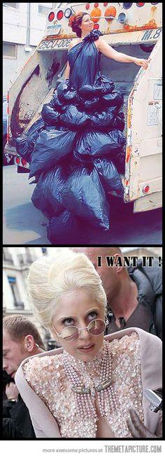 Oh, Lady Gaga...