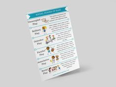 Social Stages of Play Printable Separation Anxiety Disorder, Social Anxiety Disorder, Social Skills Activities, Teaching Social Skills, Stages Of Play, What Is Fear, Social Emotional Development, Test Anxiety
