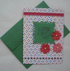 Happy Birthday - Handmade Card, $3.5
